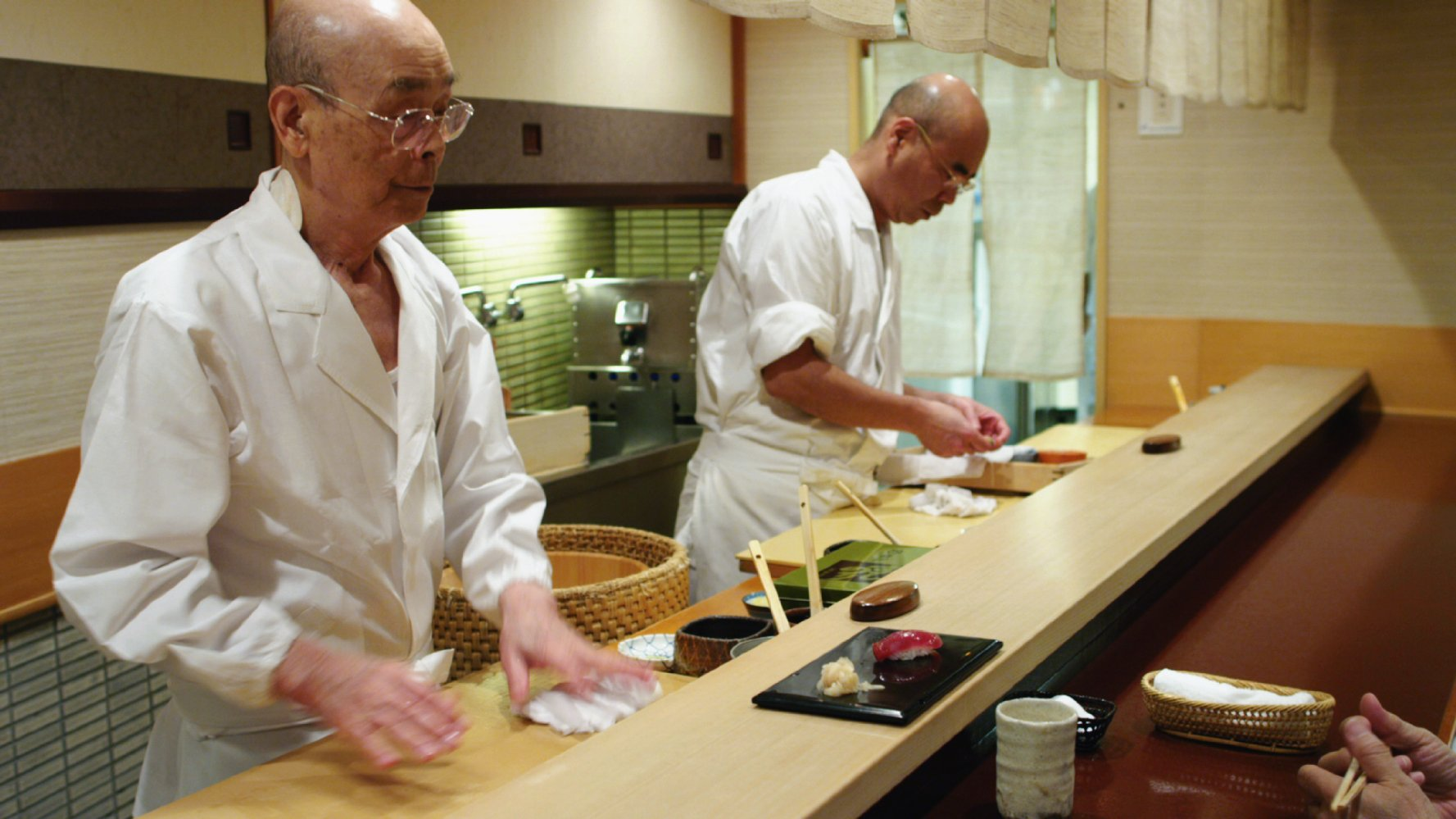 """You must fall in love with your work"" – Jiro Dreams of Sushi"