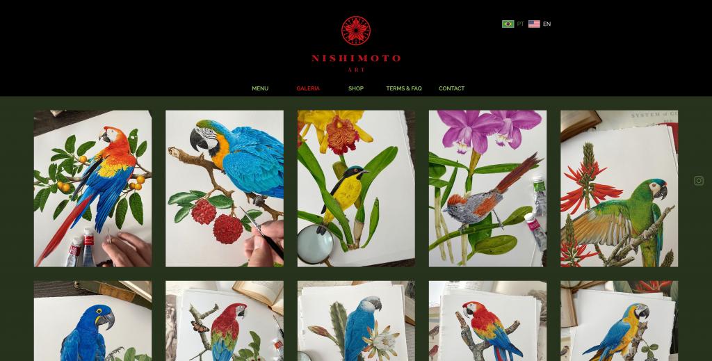 Marcellus Nishimoto Ecwid Store