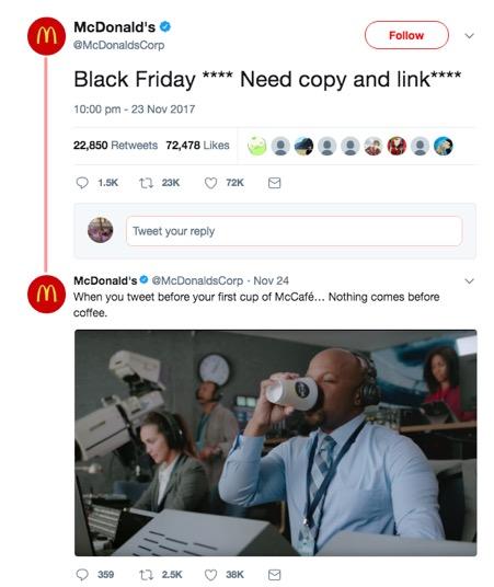 Tweet McDonalds