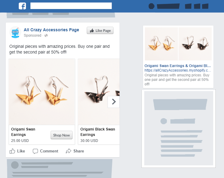 Automated Facebook retargeting ads