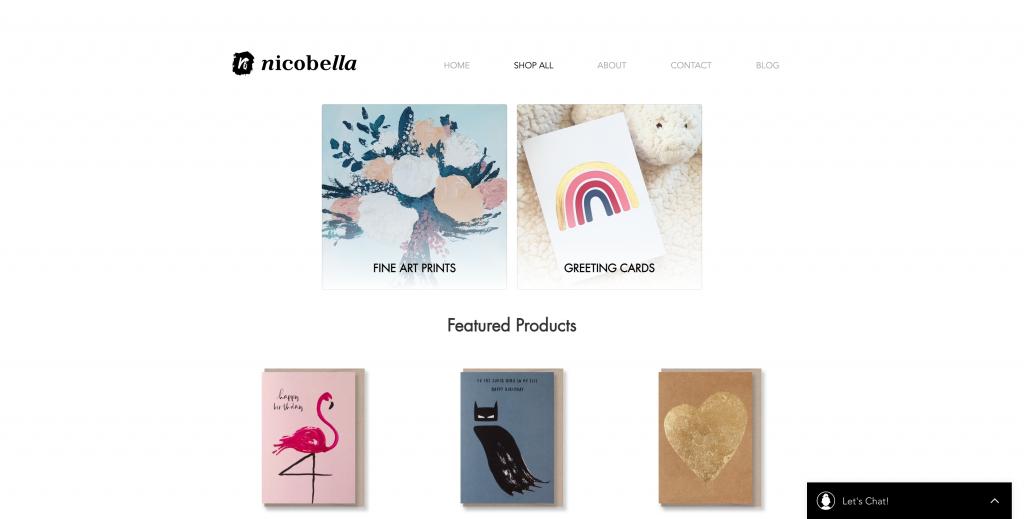 Nicobella Ecwid Store