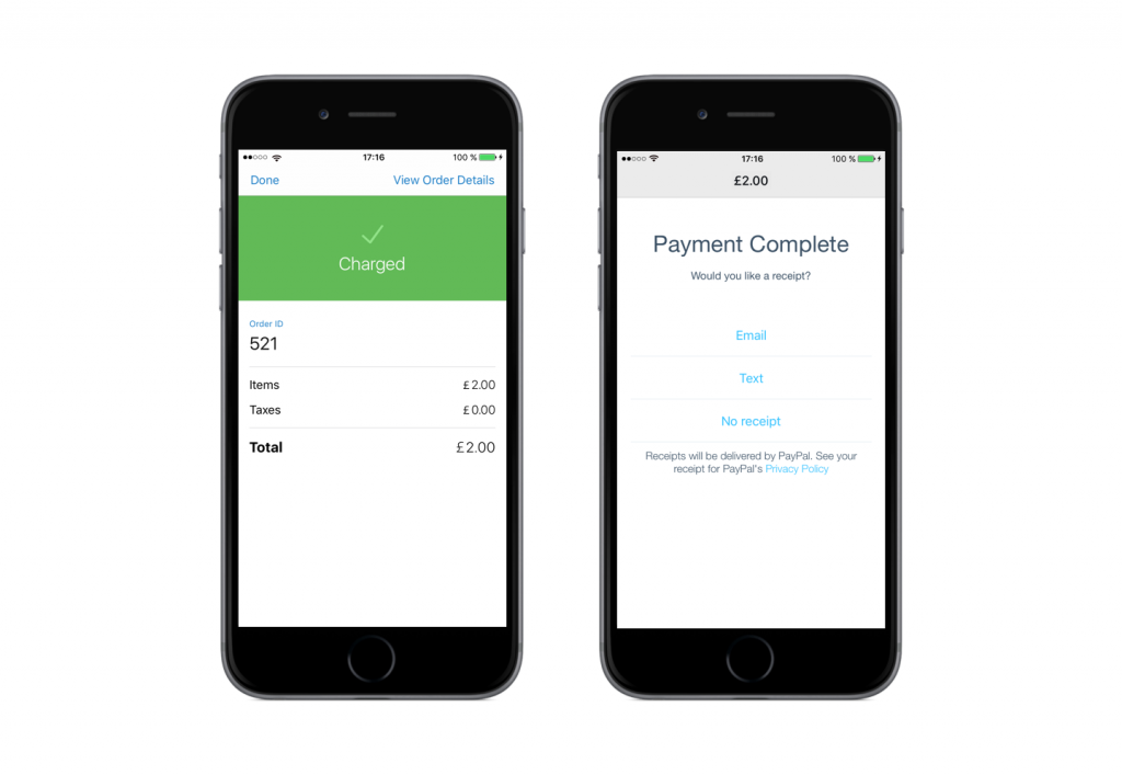 PayPal Here UK and Ecwid integration for smb