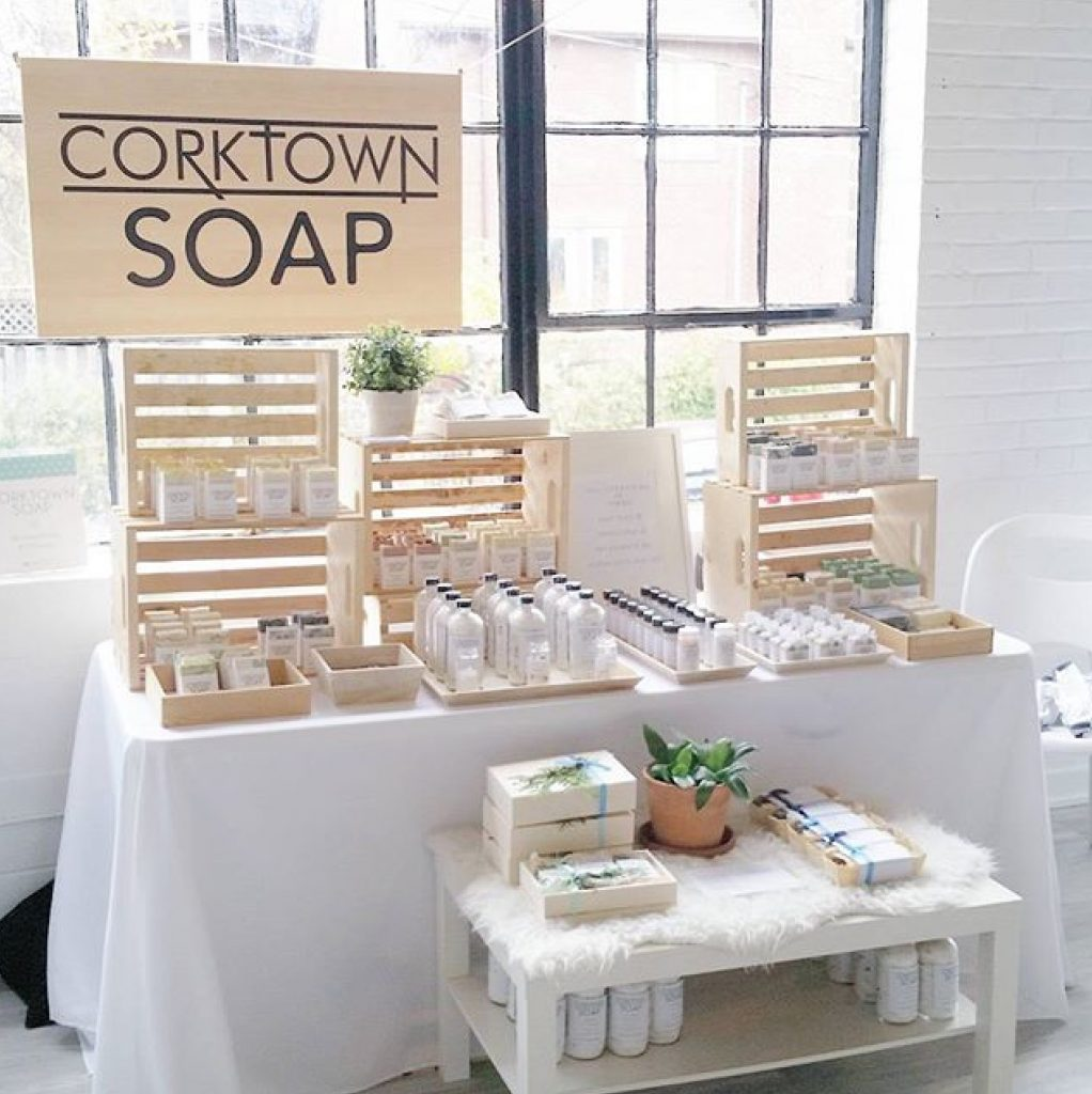 Un superbe Corktown magasin pop-up