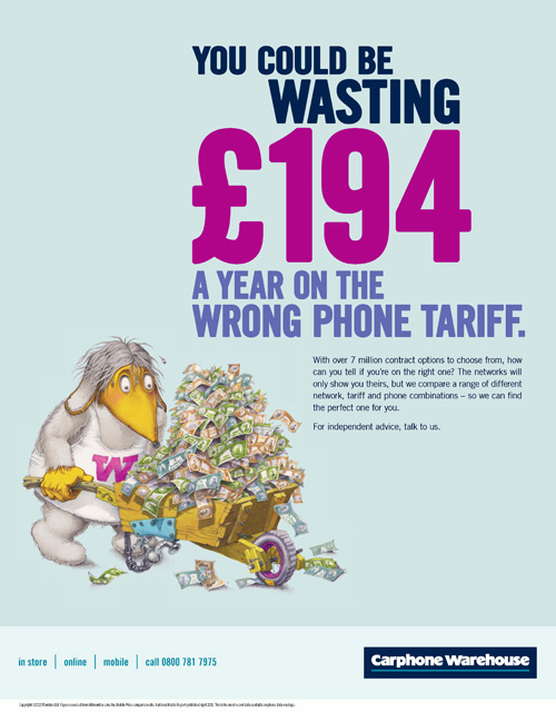 Psychological Triggers Carphone Warehouse