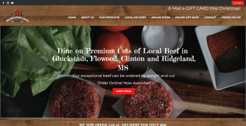 Remington-Lott Farms Ecwid Store