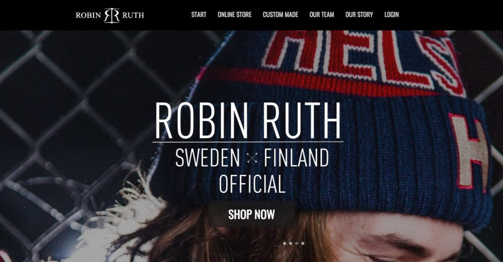 Robin Ruth ecwid store example