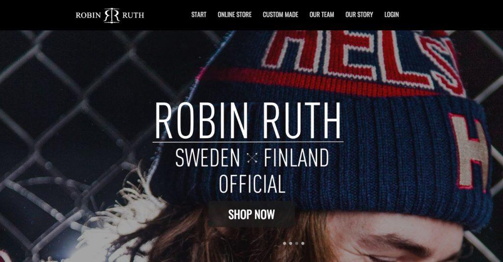 Robin Ruth Ecwid opslag voorbeeld
