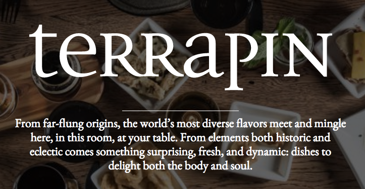 Terrapin restaurant.com unique selling proposition