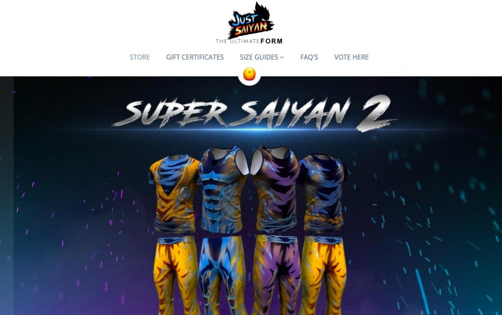 JustSaiyan Gear