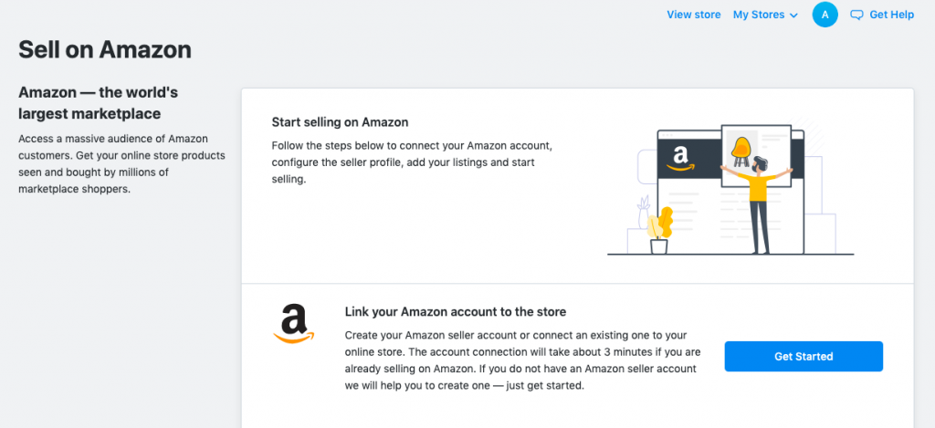 Sell on Amazon from your ecommerce store