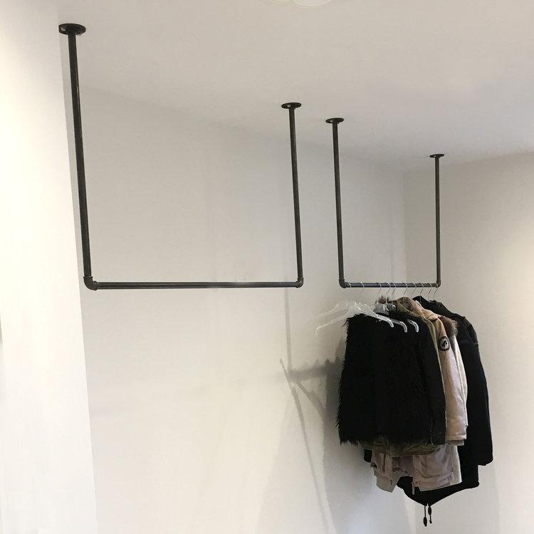 meubles sur mesure de tuyaux en acier