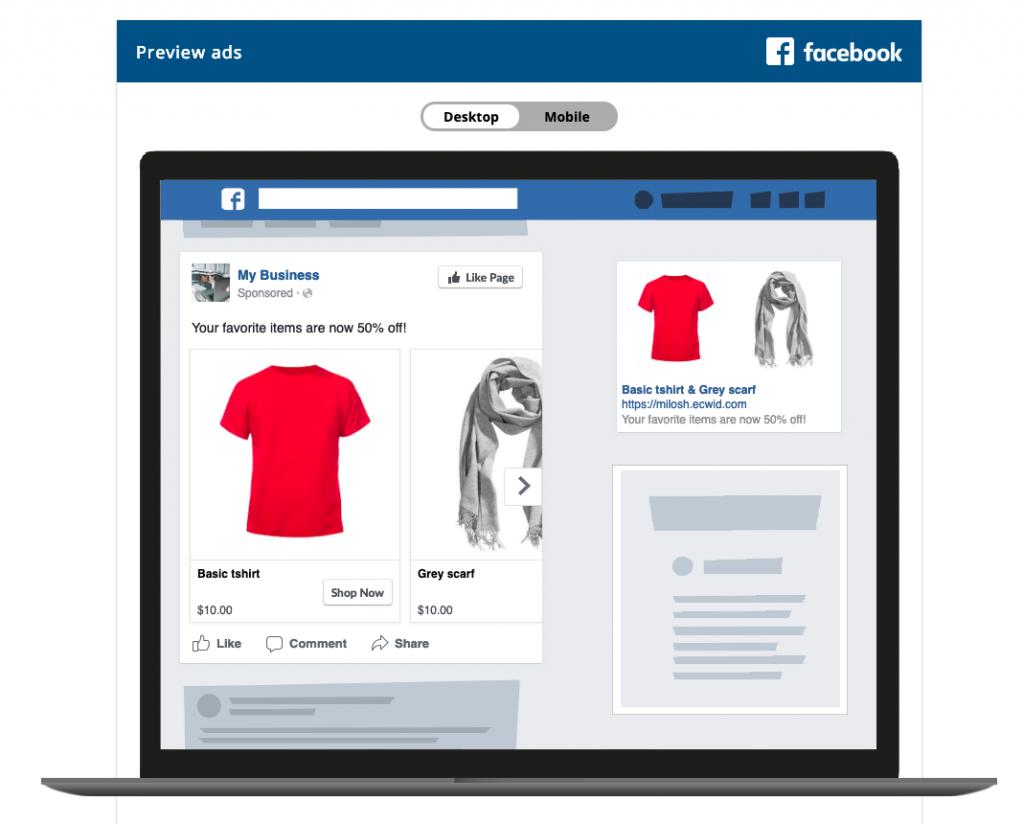 Set up facebook retargeting