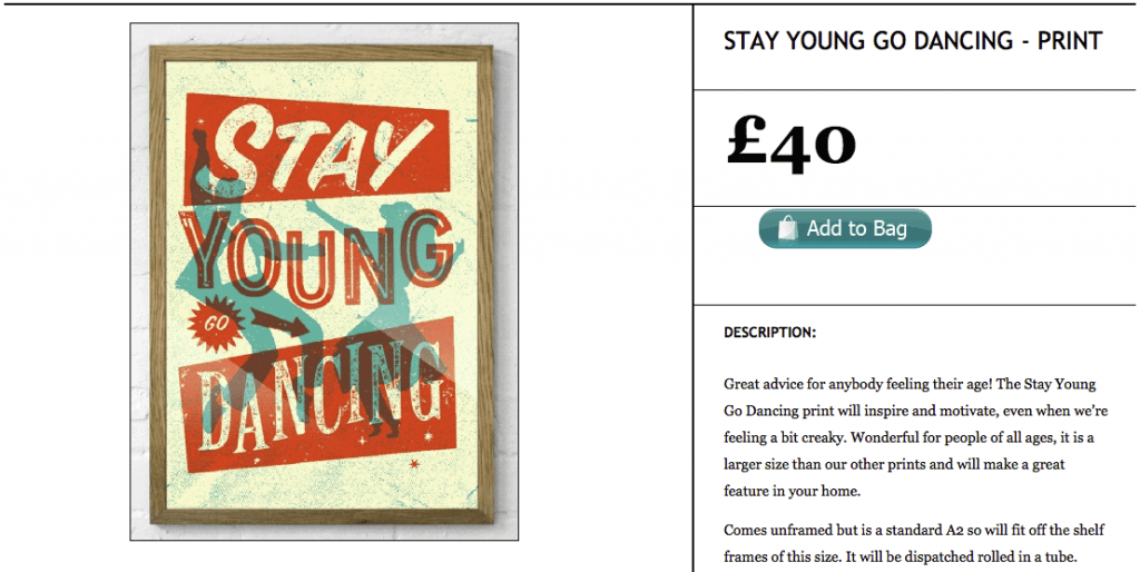 Stay Young Montys Vintage Shop Ecwid Store