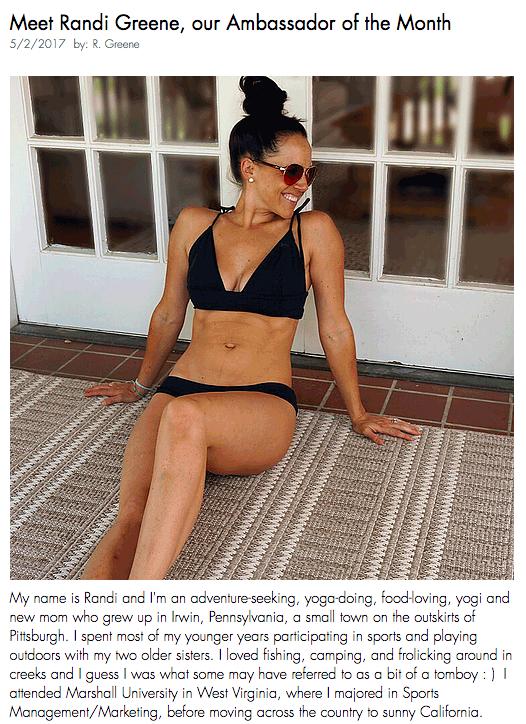 Strano programma Bikini Ambasciatore