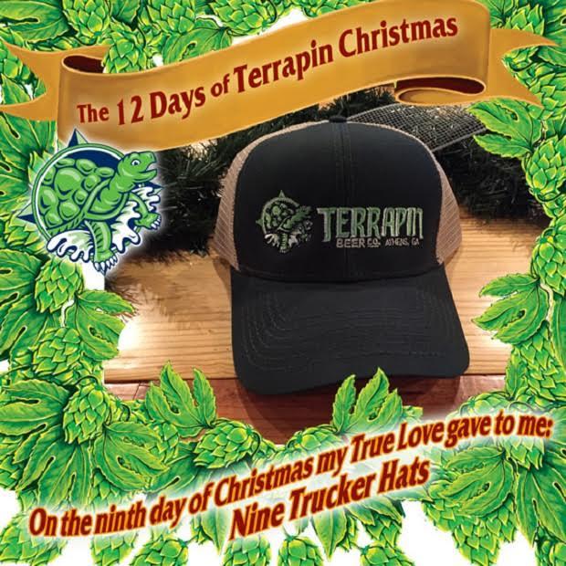 Terrapin Beer Christmas promo