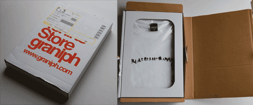 Tshirt packaging
