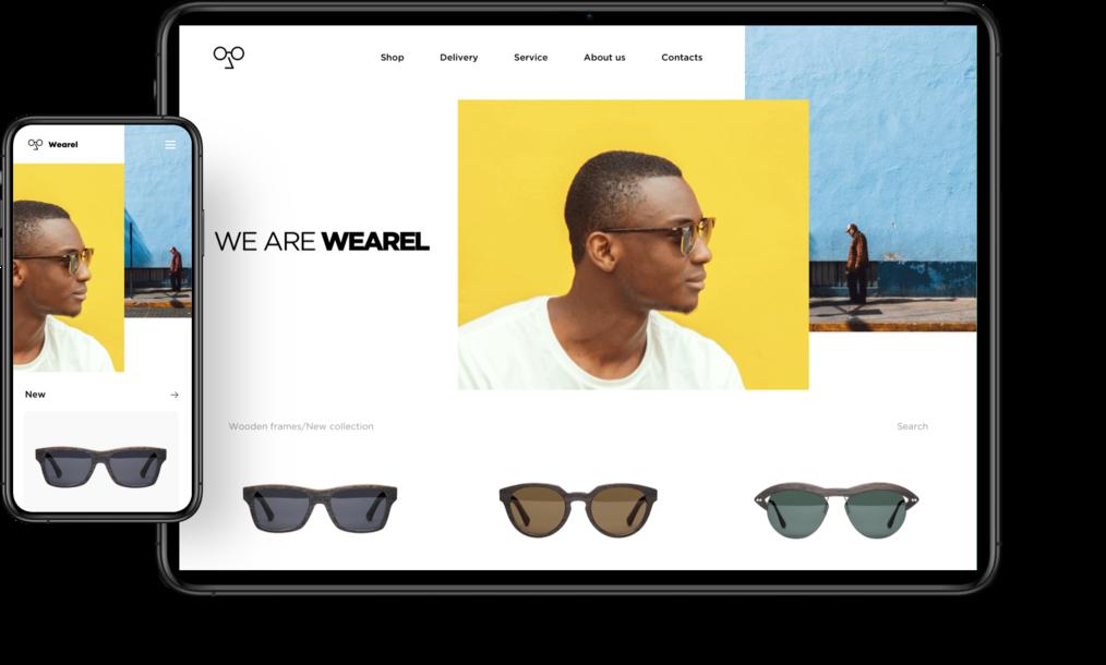 Ecwid online store design