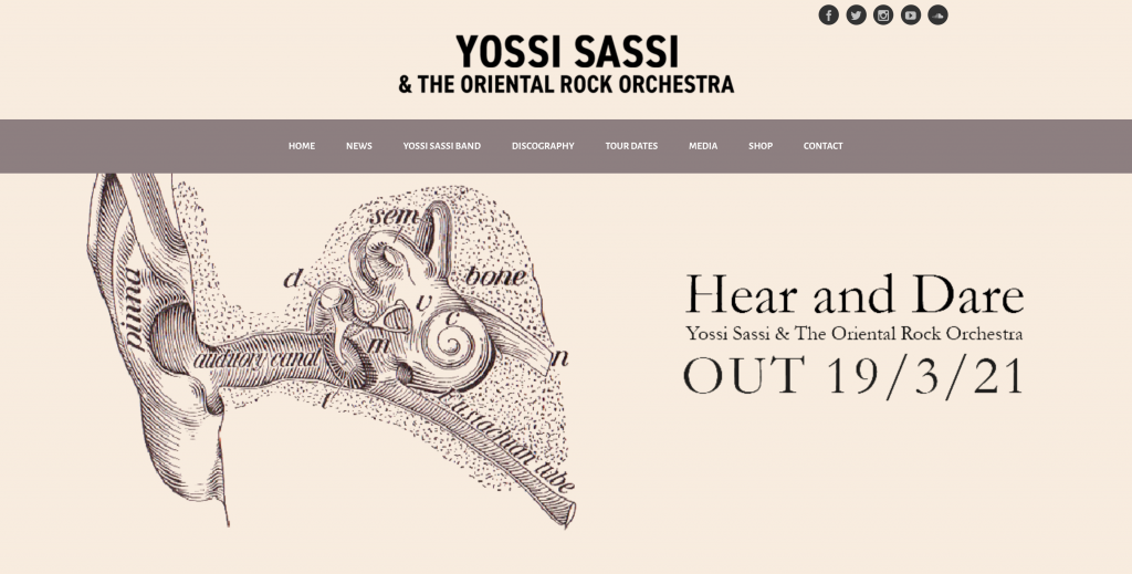 Yossi Sassi Ecwid Store