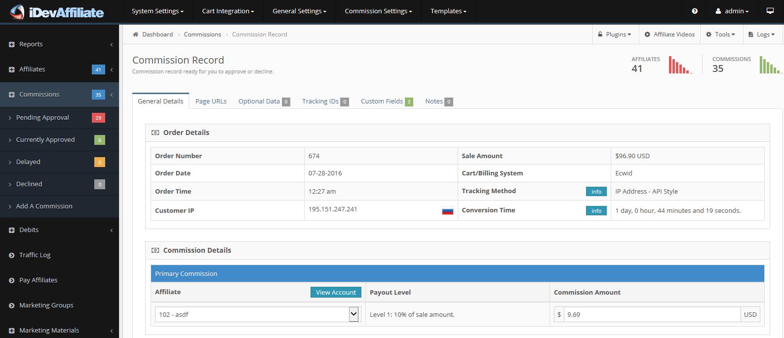 Dating affiliate software door iDevAffiliate