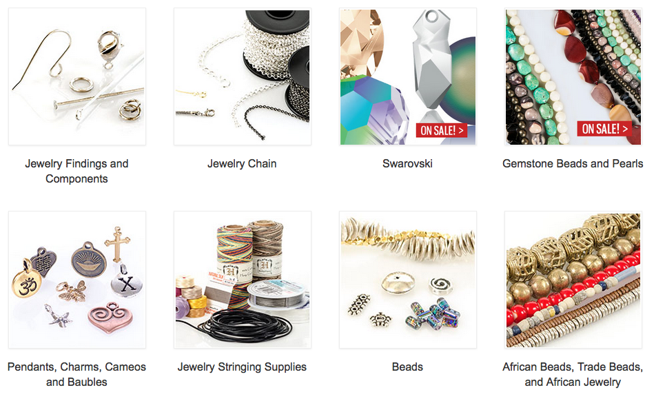 Wholesale supplier for jewelery