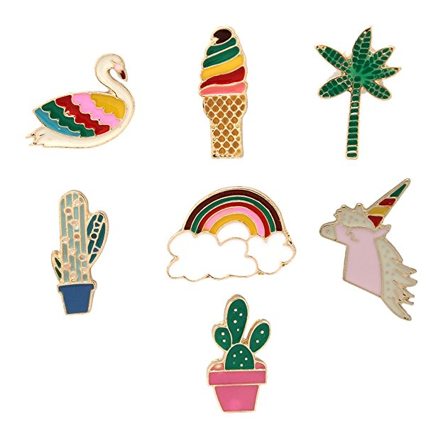 hot new products to sell: enamel pins