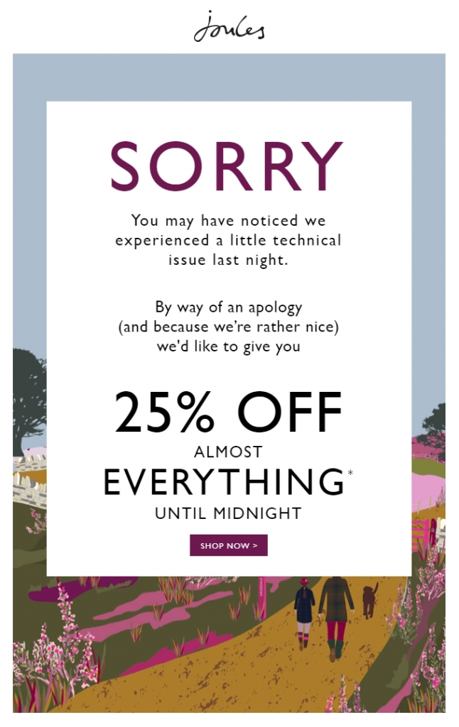 apology email example