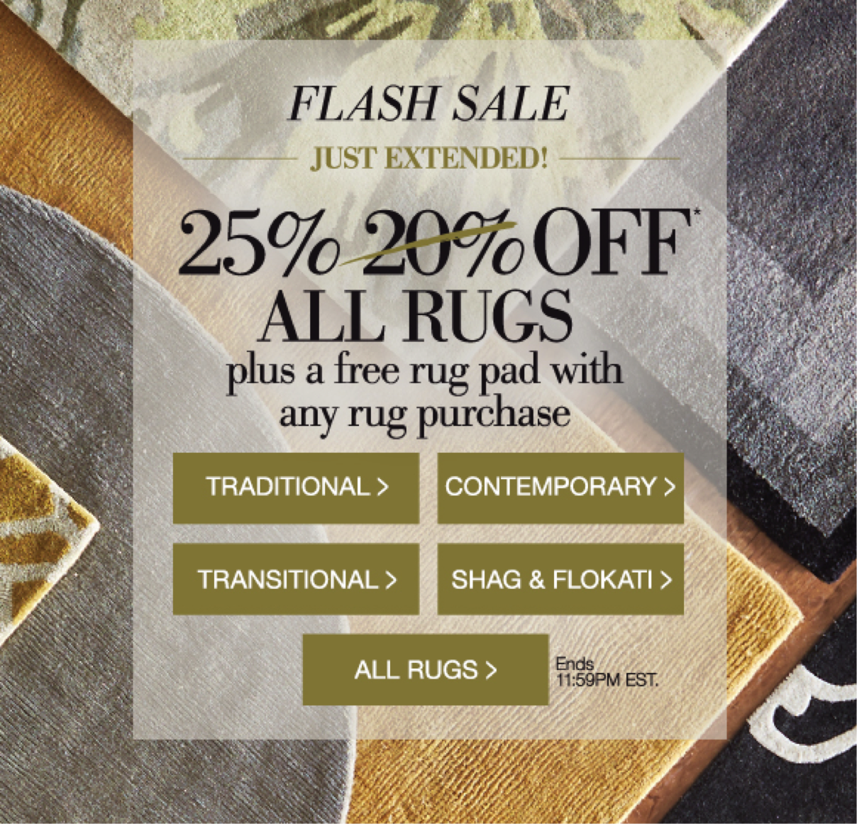 A Flash sale in Home Decorators Collection