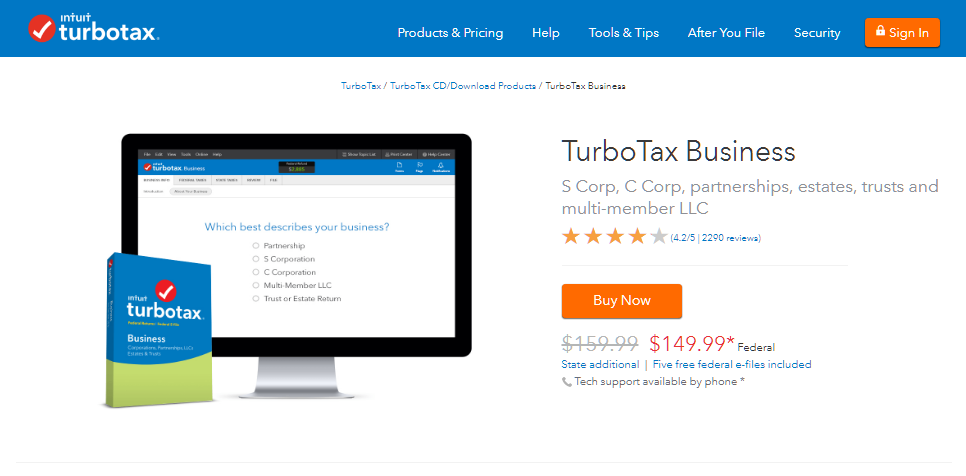TurboTax Business
