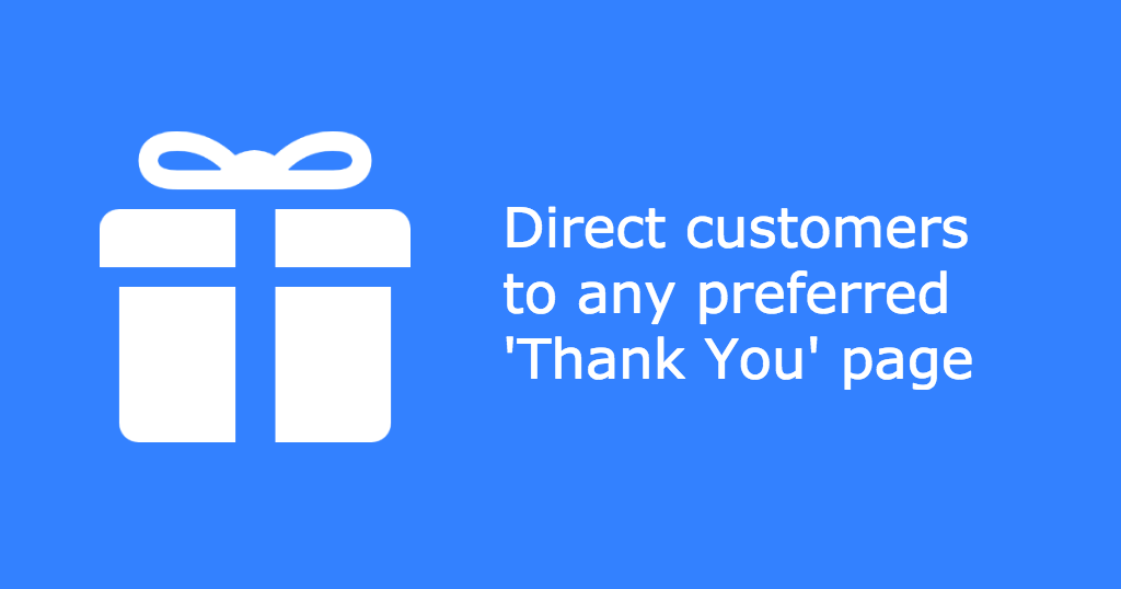 Custom Redirect for 'Thank You' Page