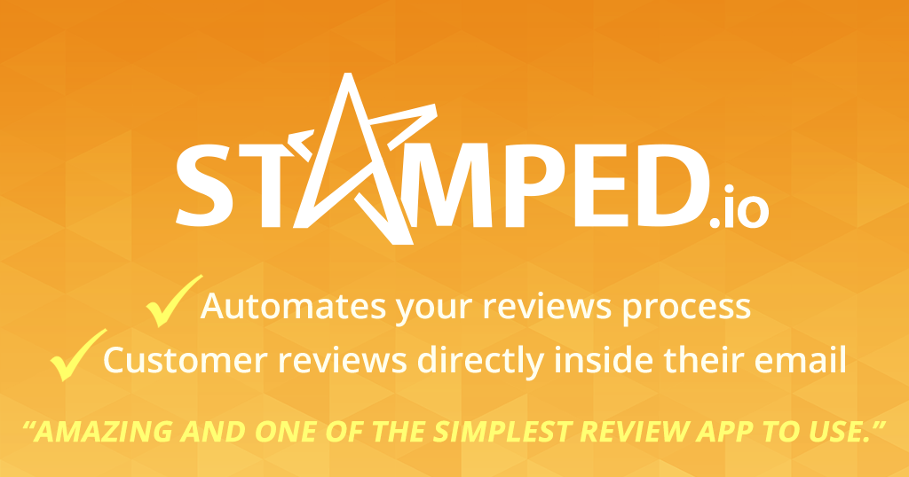 Product Reviews by Stamped.io for Ecwid