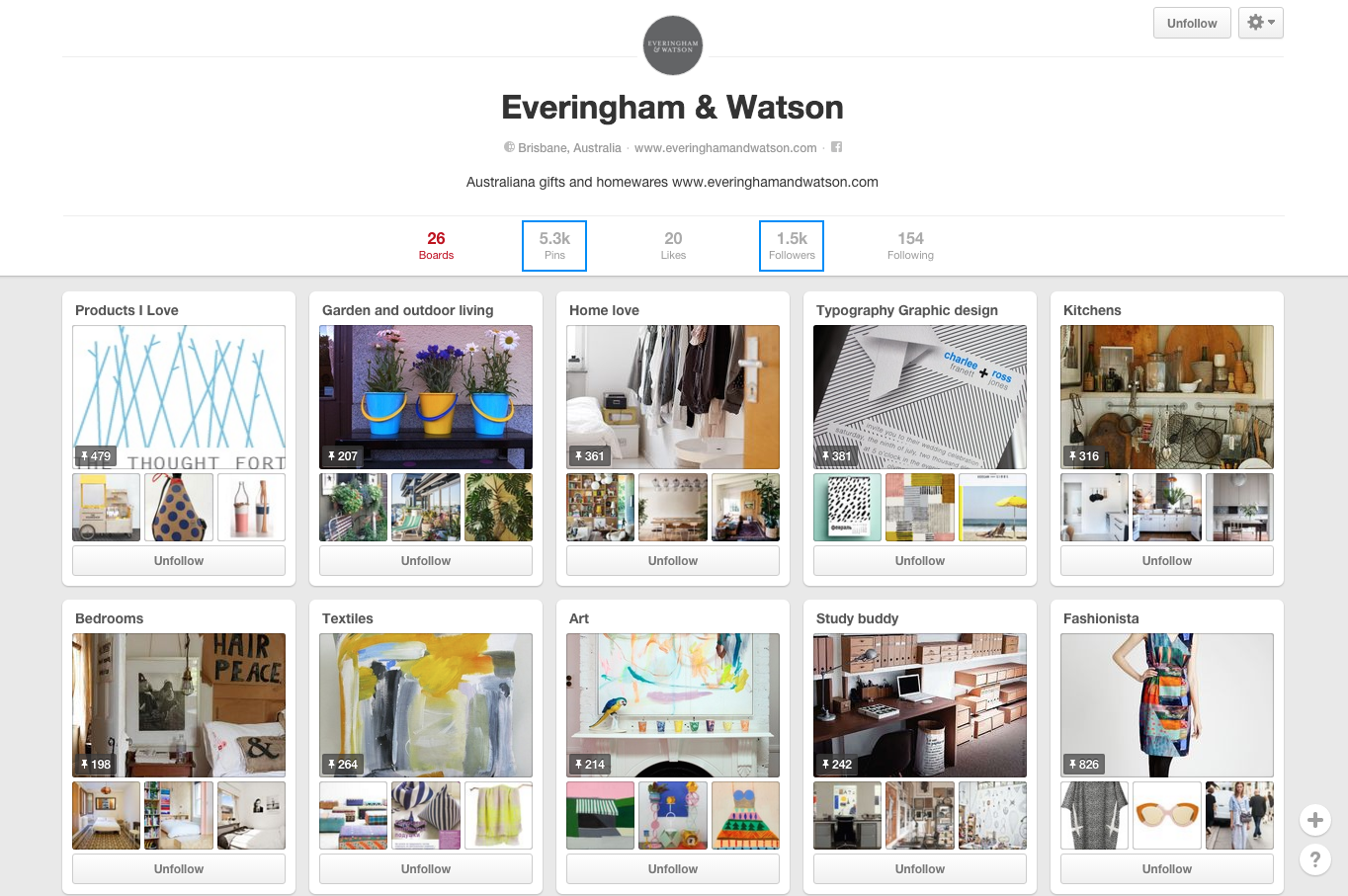 everingham and watson pinterest