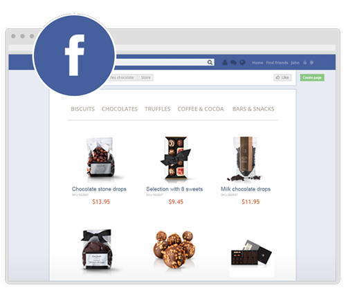 Win more buyers by adding Ecwid to your Facebook page. It will take 5 minutes