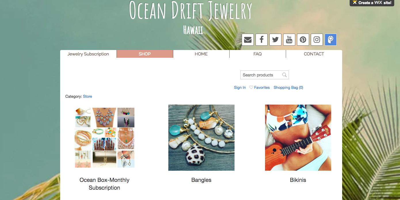 Ocean Drift Jewelry Hawaii