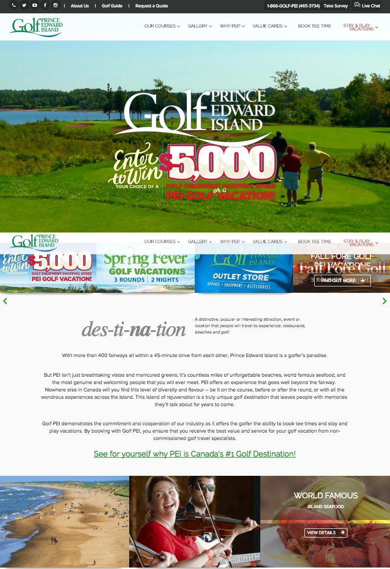 Online store GolfPEI