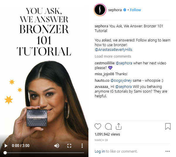 how to sell on instagram in a video thumbnail
