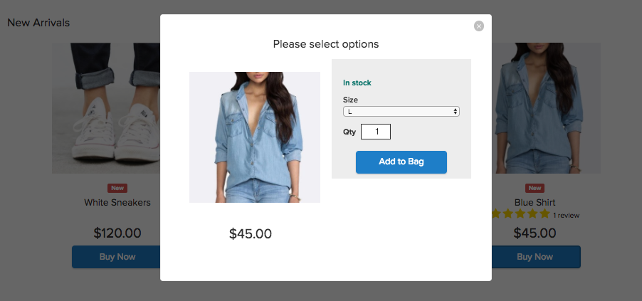 Buy Now Button in Ecwid