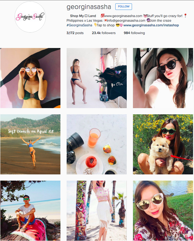 Georgina Sasha Instagram