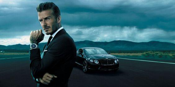 David Beckham per Rolex
