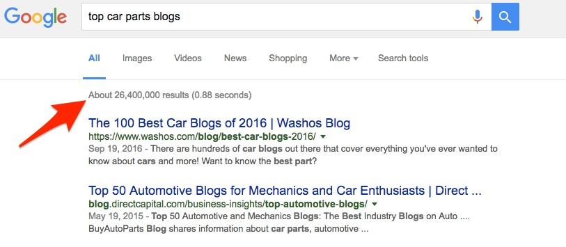 car part blogs