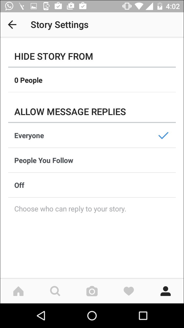 how to add a picture to instagram story