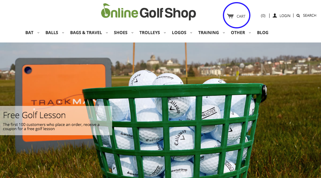 Golf Shop Ecwid