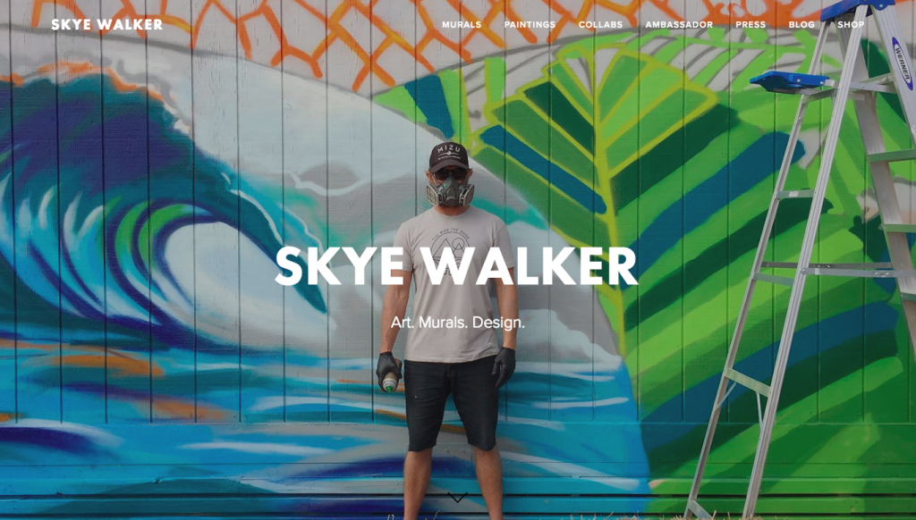 Skye Walker Site