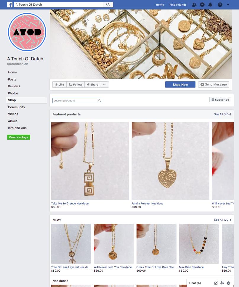 A Touch of Dutch Facebook Shop