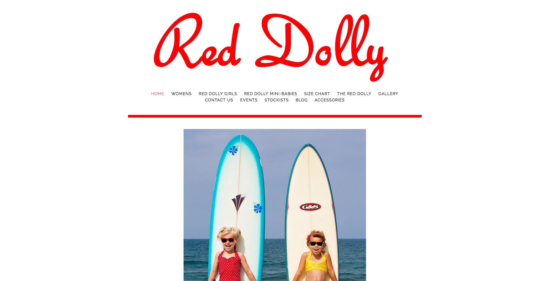 reddollyswimwear