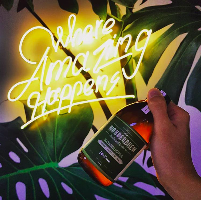 produits de tendance kombucha Instagram
