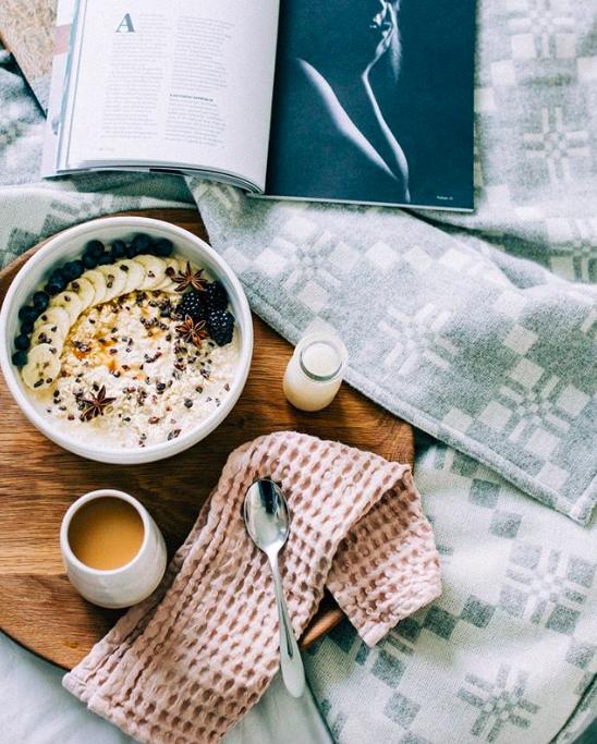 tren produk instagram susu oat