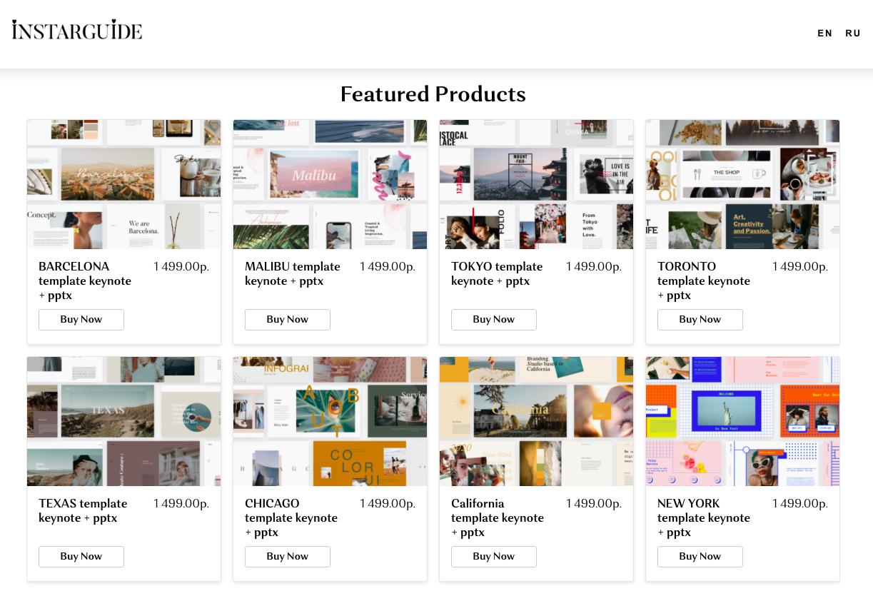 modelli di idee di prodotti digitali