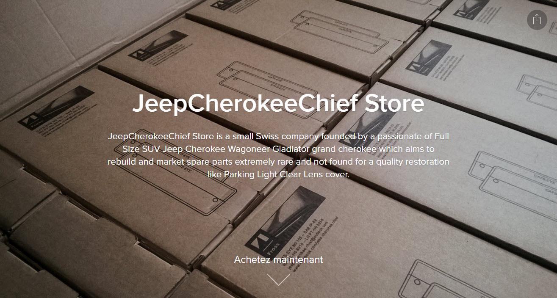 negozio jeepcherokeechief sito avviamento Ecwid