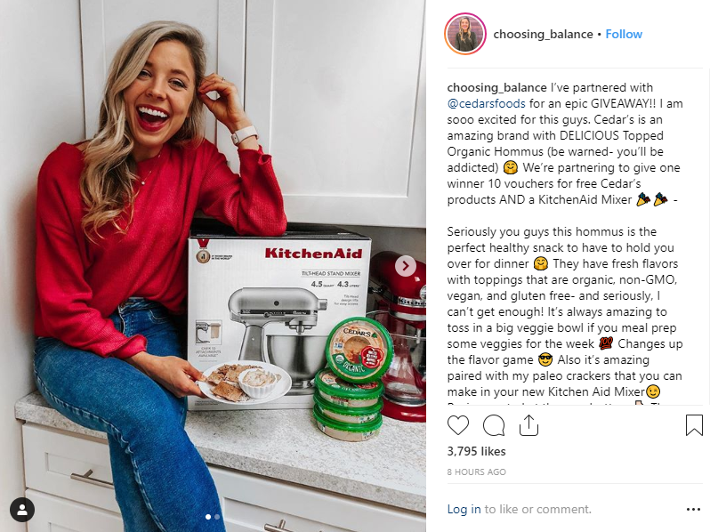Making money on Instagram via partnerships