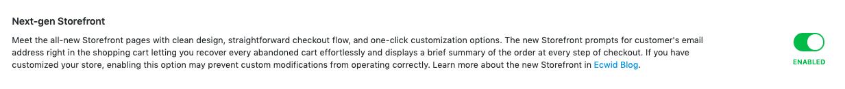 enable multilingual storefront